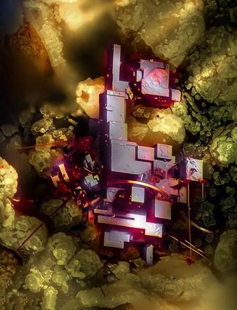On Üçüncü — Dr. Emilio Carabajal Márquez, Cuprite (mineral composed of copper oxide)