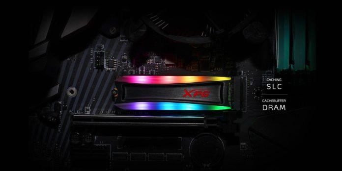 XPG Spectrix S40G RGB SSD!