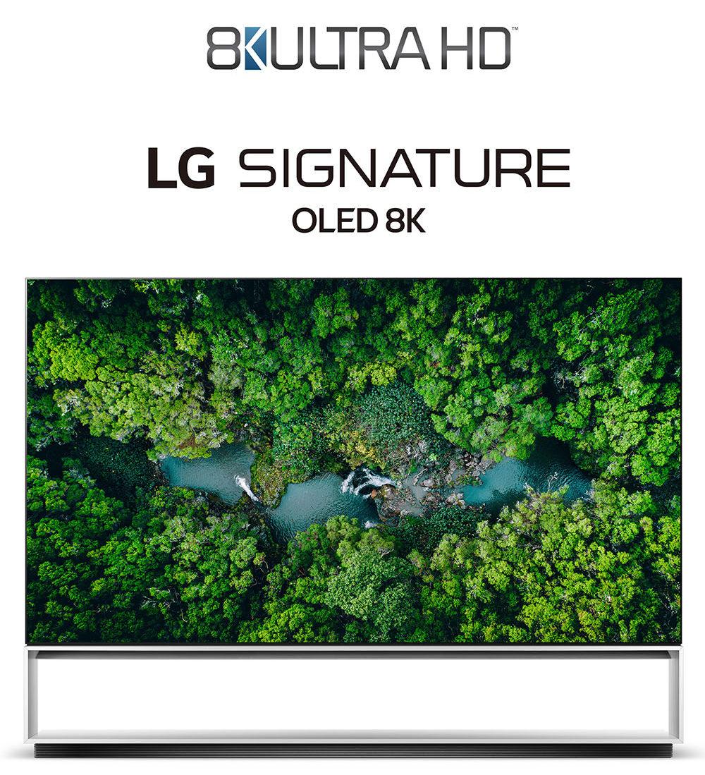 Sektörün İlk Gerçek 8K Ultra HD TV'leri LG'den!