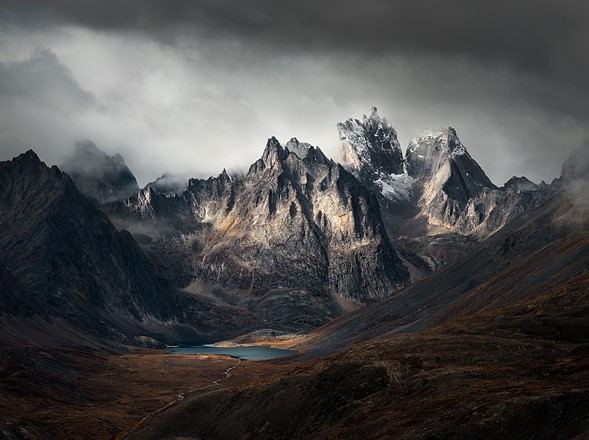 Third Place: 'Grizzly Lake, Yukon, Canada' by Blake Randall (Canada)/International Landscape Photographer of the Year