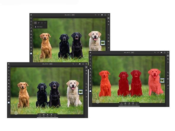 İPad için Adobe Photoshop AI destekli