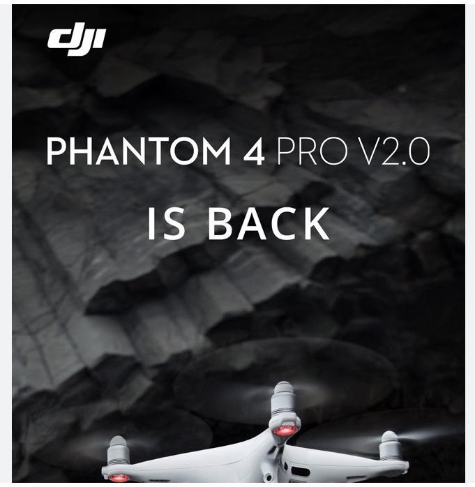 DJI, Phantom 4 Pro V2.0 Dron Geri Döndü!