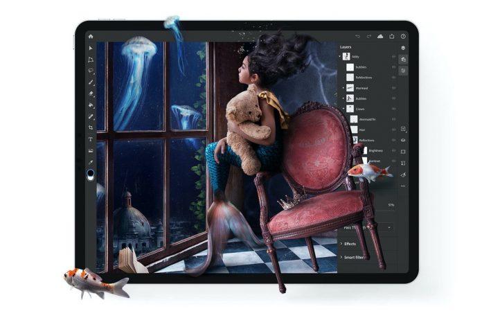 iPad için Photoshop Artık Hazır!