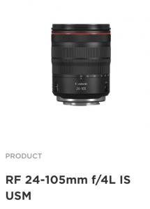 Canon EOS R Sistem