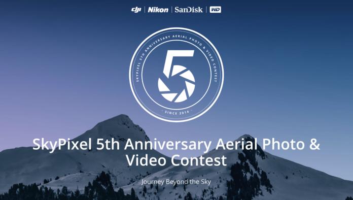 DJI ve SkyPixel, 5. Yıldönümüne Özel Yarışma!