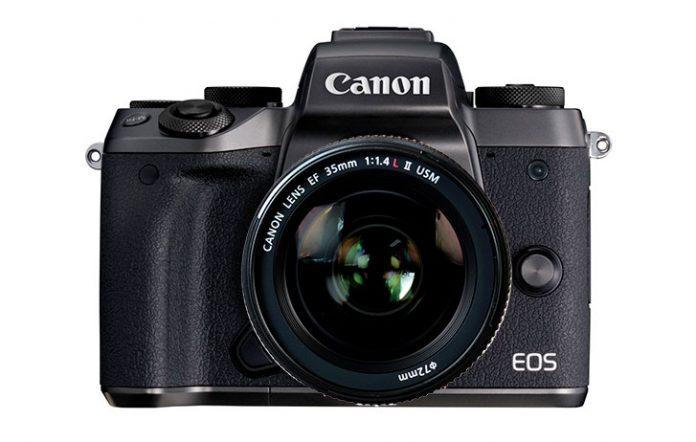 canon aynasız kamera