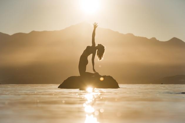Salute to the sun, Bel Jones (NZ)